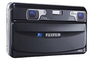 FinePix REAL 3D W1 tiene dos sensores y dos lentes.